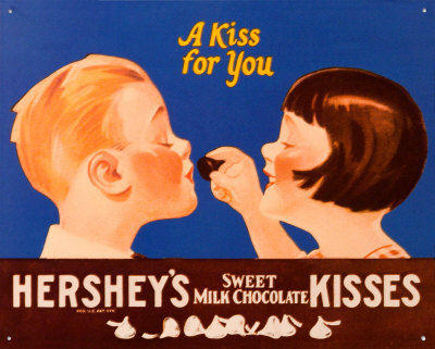 old-hershey-kiss-ad